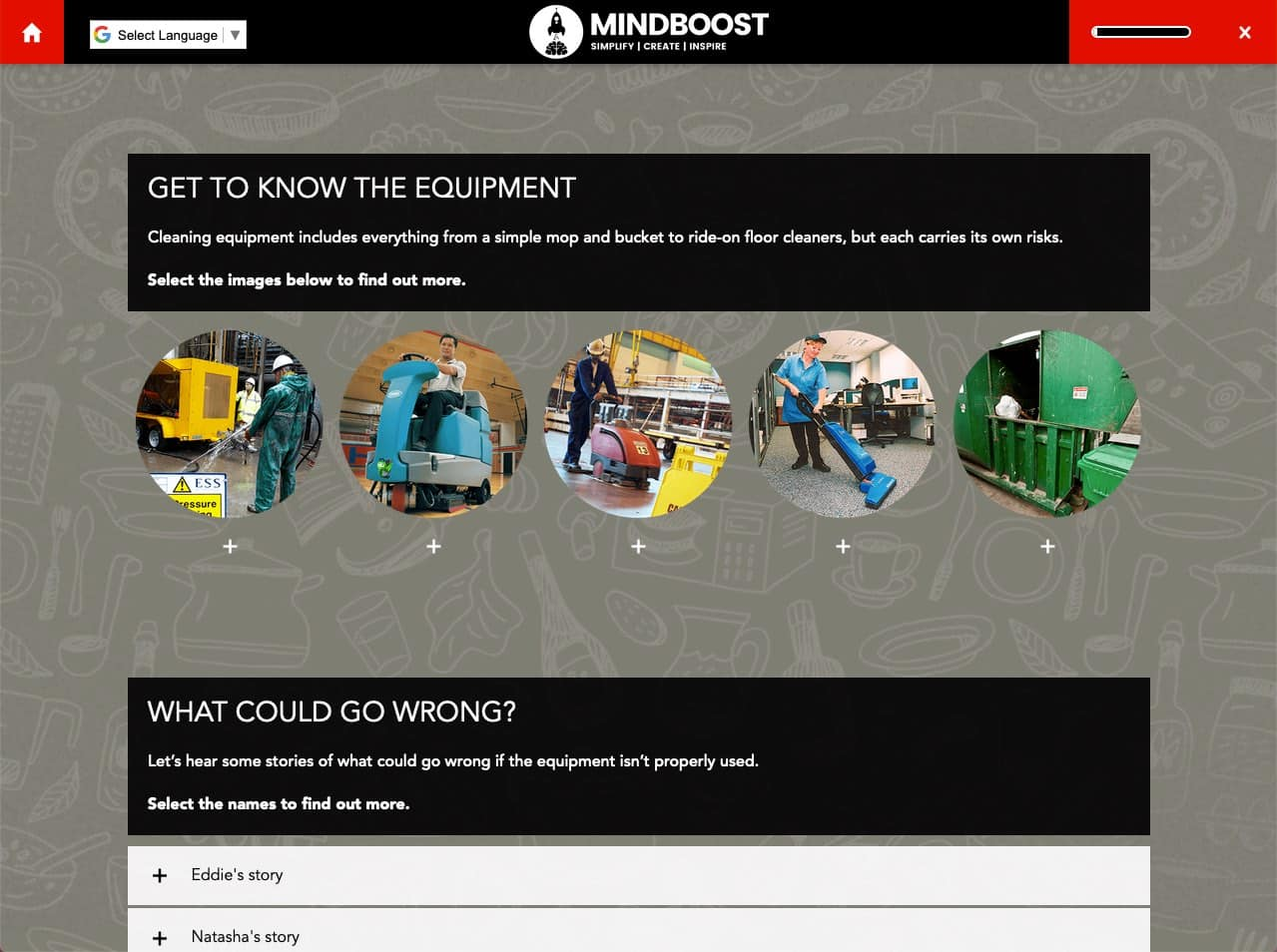 Get to know Equipment