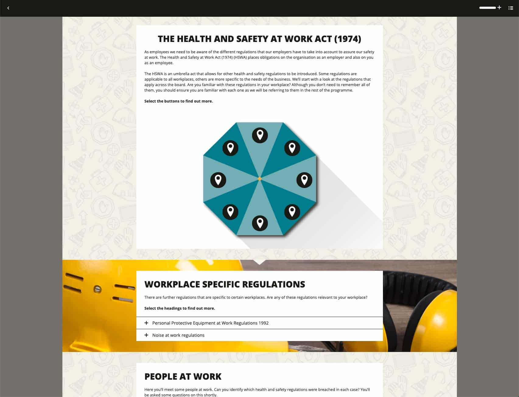 Health & Safety at Work Act