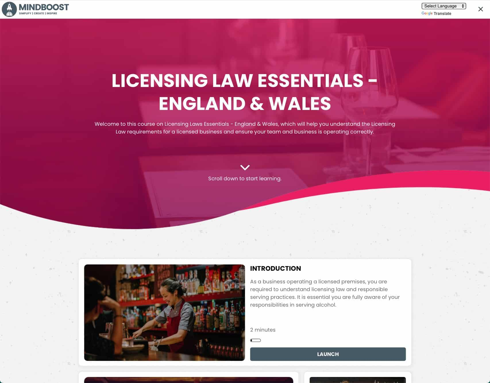 Licensing Law - England & Wales