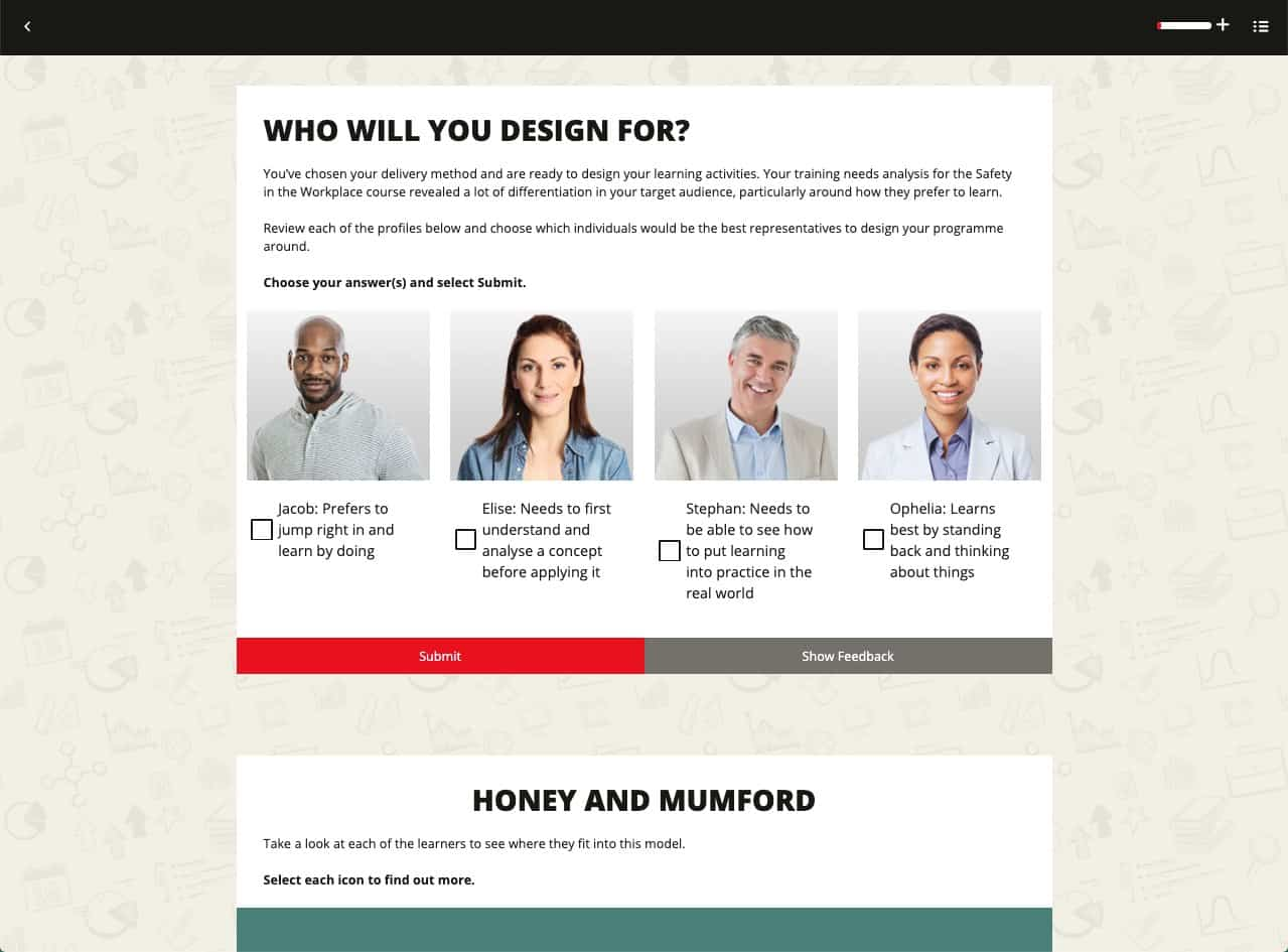 Who will you design for?