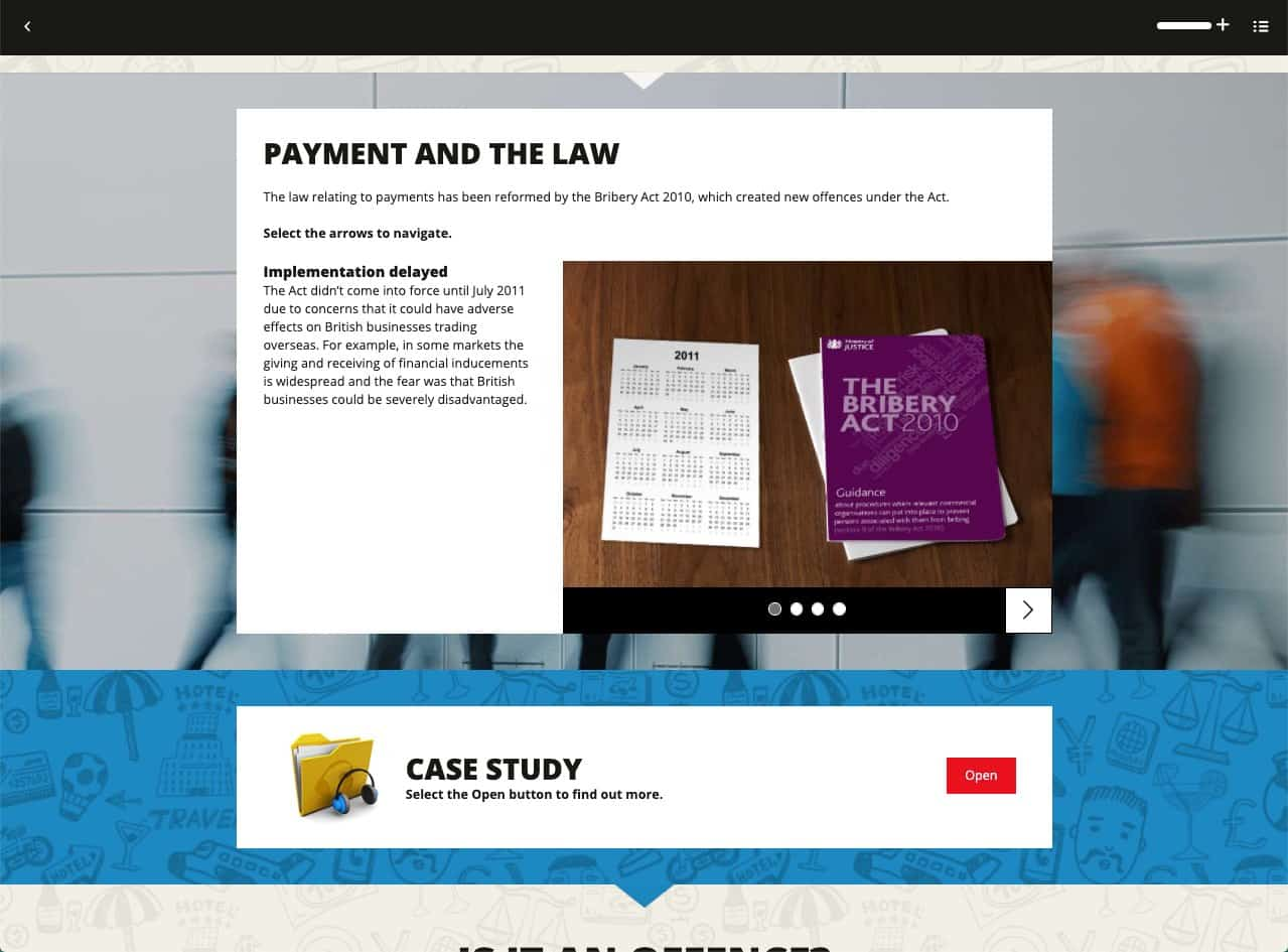 Payment and the law